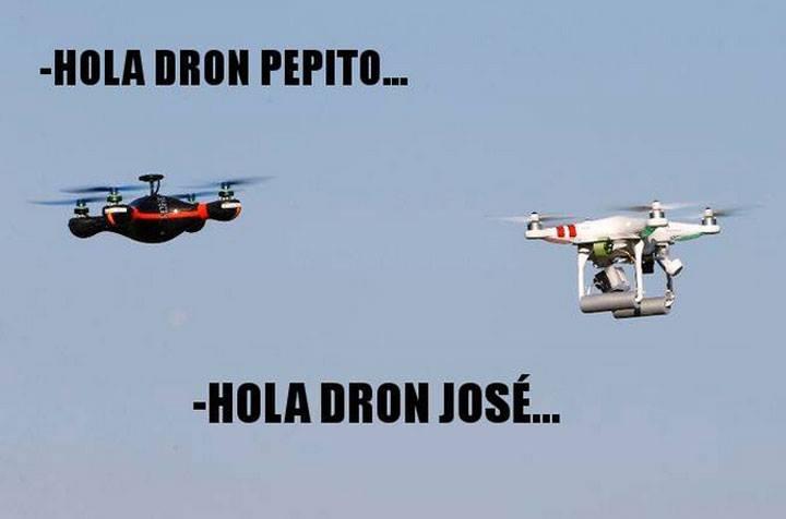 MEMES SOBRE DRONES